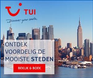 TUI Stedentrips banner